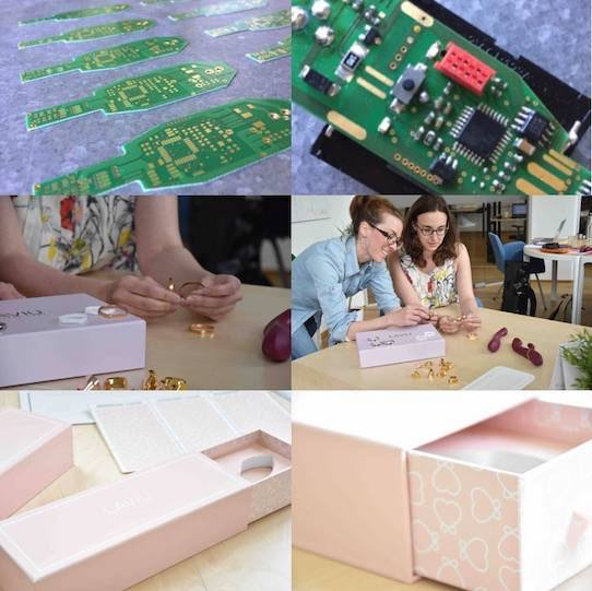 Bevor die Toys schließlich in den rosa Verpackungen landen, sind noch weitere Arbeiten an der Platine notwendig. Foto: Laviu