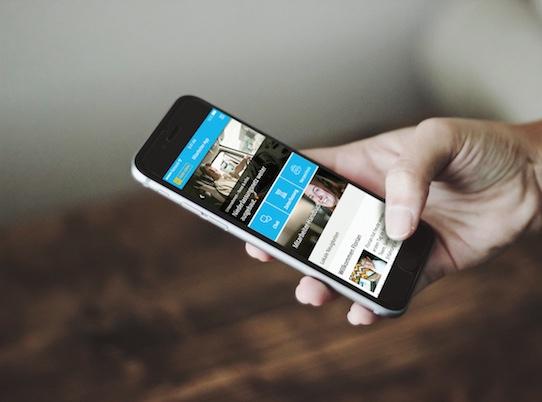 Per Smartphone kann jeder bequem auf die App zugreifen. Foto: Staffbasse/Henry Sowinski
