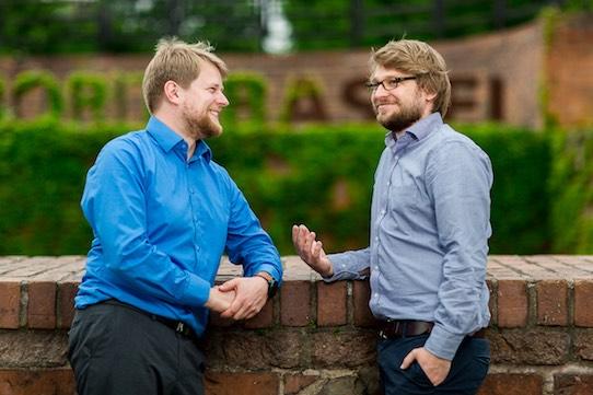 Karl-Ludwig Wachler (li.) und Axel Augstein sind die Gründer von Meetle. Foto: Meetl.me