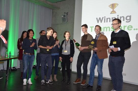 Team Tagcare. Foto: Stephan Hönigschmid