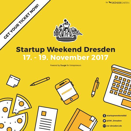 Das Logo des Startup Weekends in Dresden. Abbildung: PR