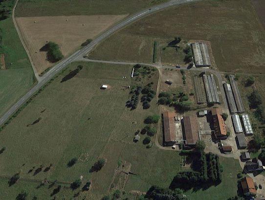 Auf diesem Areal in Leckwitz startet in Kürze die Biopilz-Produktion. Foto: Permagold/PR