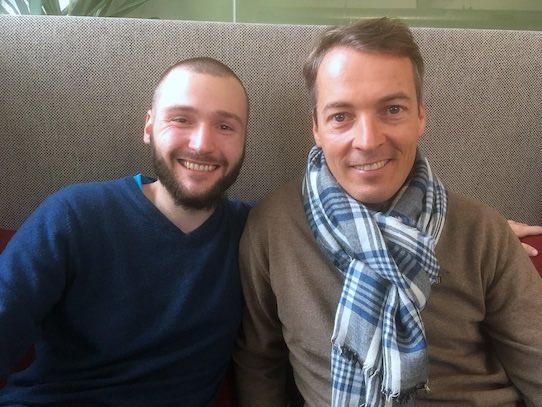 Karl Kretschmer (l.) und Jens-Uwe Sauer vom Vorstand von Permagold. Foto: Stephan Hönigschmid