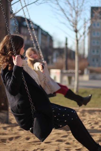 Durch ihre Selbständigkeit kann Arlett Großmann ihren Tag flexibler gestalten, so dass sie auch mehr Zeit für ihre achtjährige Tochter hat. Foto: Alett Großmann/privat