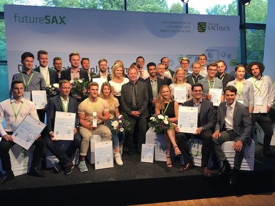Alle Preisträger des diesjährigen Wettbewerbes auf einem Blick. Foto: Stephan Hönigschmid