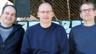 Uwe, Andreas und Matthias Koch (v.l.n.r.) sind die Gründer von Code it! Foto: Code it!/PR