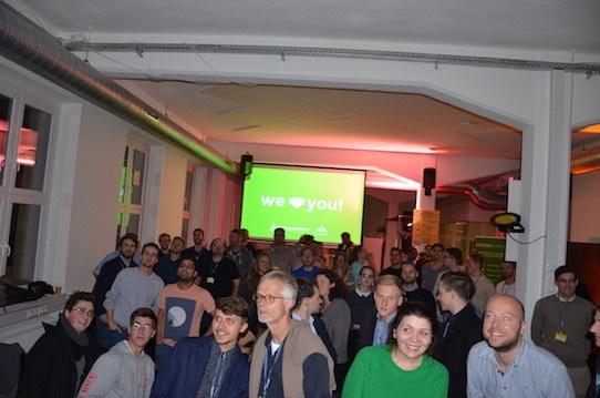 In diesem Jahr gastierte das Startup Weekend im Impact Hub am Hauptbahnhof in Dresden. Foto: Stephan Hönigschmid