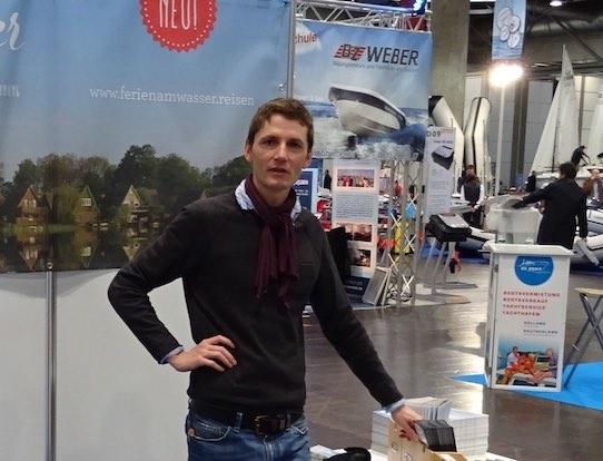 """Björn Menzel ist einer der Gründer der Leipziger Firma """"Ferien am Wasser"""". Foto: Ferien am Wasser"""