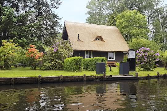 Diese Ferienhaus befindet sich im Spreewald. Foto: Björn Menzel/Ferien am Wasser