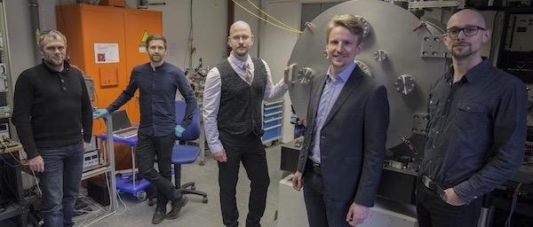Sechs Dresdner Ingenieure haben das Startup gegründet. Foto: Morpheus Space GmbH