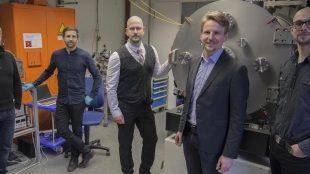 "Das Team des Dresdner Startups ""Morpheus Space"". Foto: Morpheus Space GmbH"