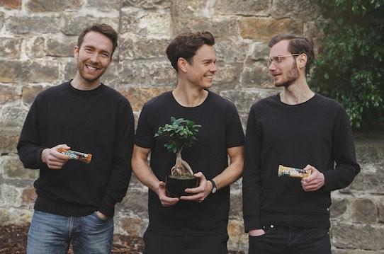Mathias Tholey, Christian Fenner und Thomas Stoffels (v.l.n.r.) sind die Gründer der nu company. Diese war zunächst in Dresden ansässig, befindet sich mittlerweile aber in Leipzig. Foto PR/The nu company