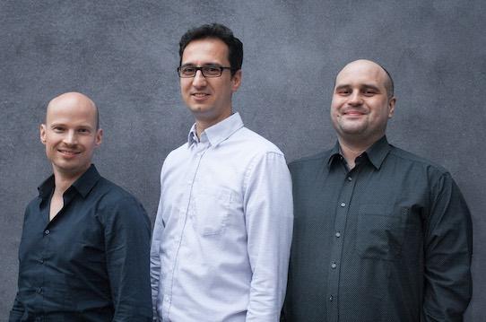 Dr. Daniel Lehmann, Mario Körösi und Alexander Stinka(v.l.n.r.) sind die Gründer der Corant GmbH. Foto: PR/Corant GmbH