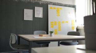 Blick in einen Arbeitsraum des HHL Digital Space in Leipzig. Foto: PR/HHL Digital Space