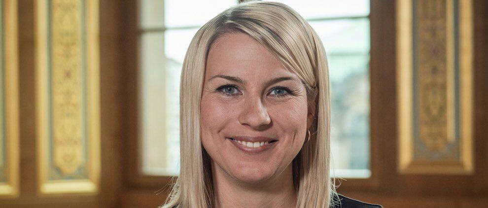 Maria Piechnick ist Botschafterin für den Tag der Deutschen Einheit. Foto: StK / Die Filmagentur