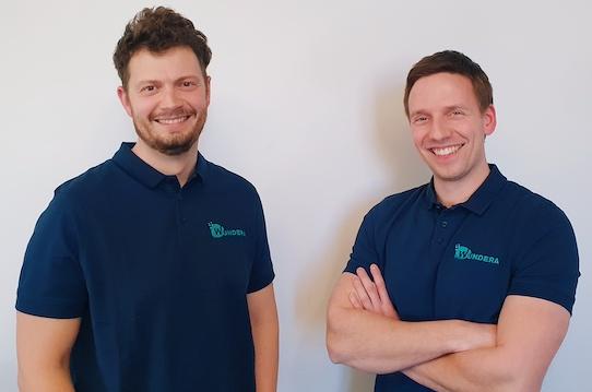 Michael Aleithe (34) und Philipp Skowron (30) sind die Gründer des Startups Sciendis. Foto: Sciendis GmbH