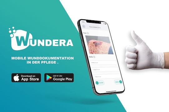 Die Wundera-App gibt es für Android und iOS. Foto: Sciendis GmbH